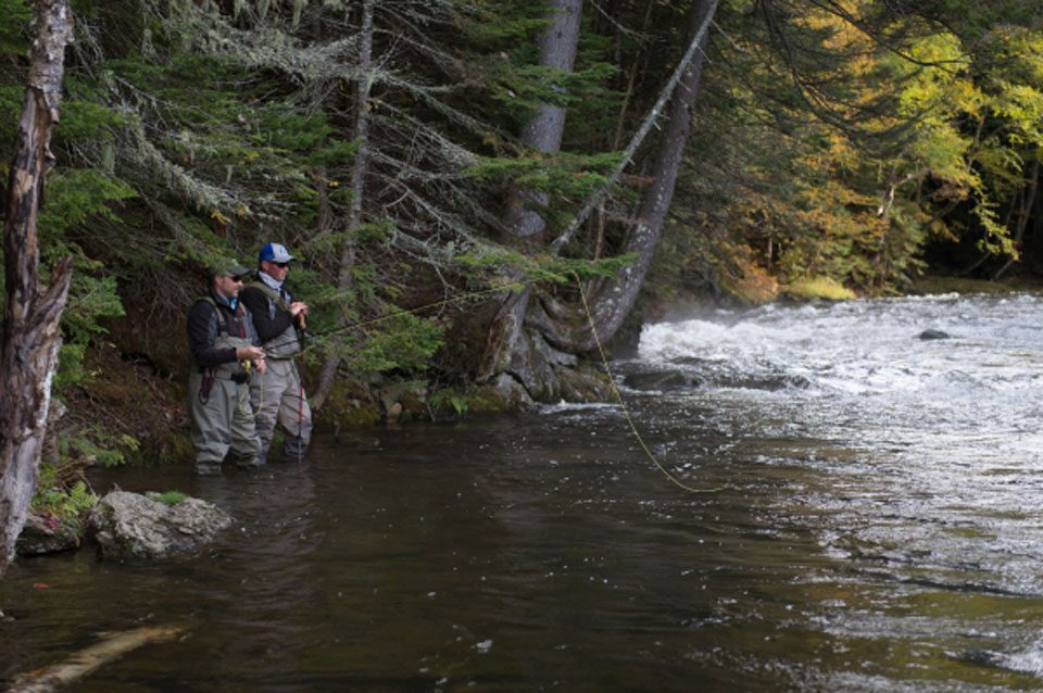On the water magazine visits lopstick lopstick for Eastern fly fishing magazine