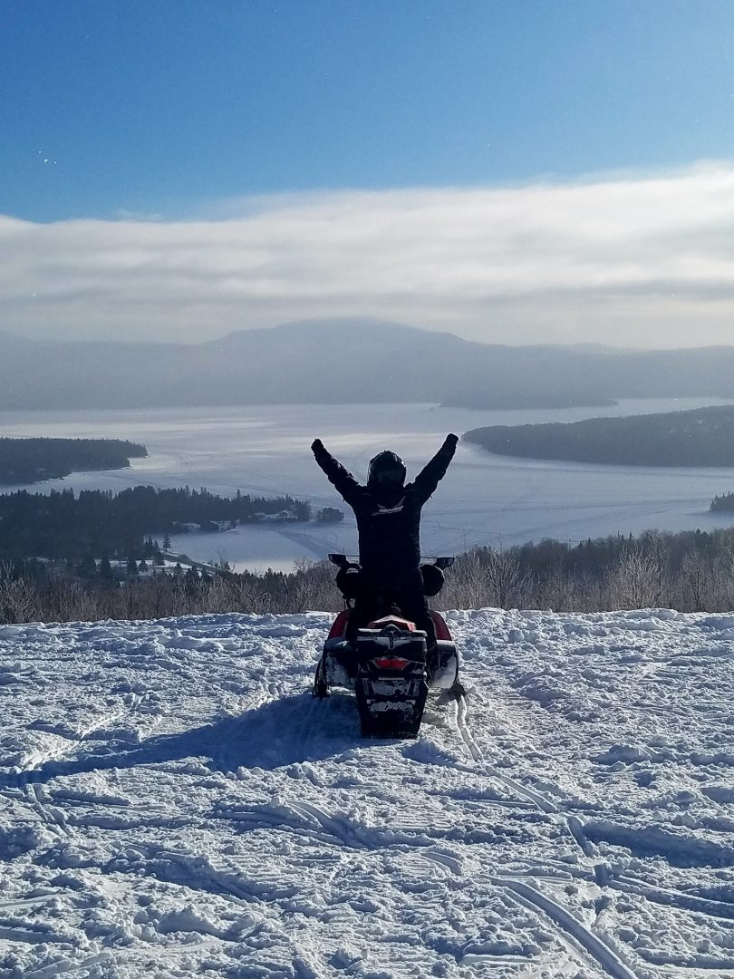 Snowmobile Trail Report In Pittsburg New Hampshire