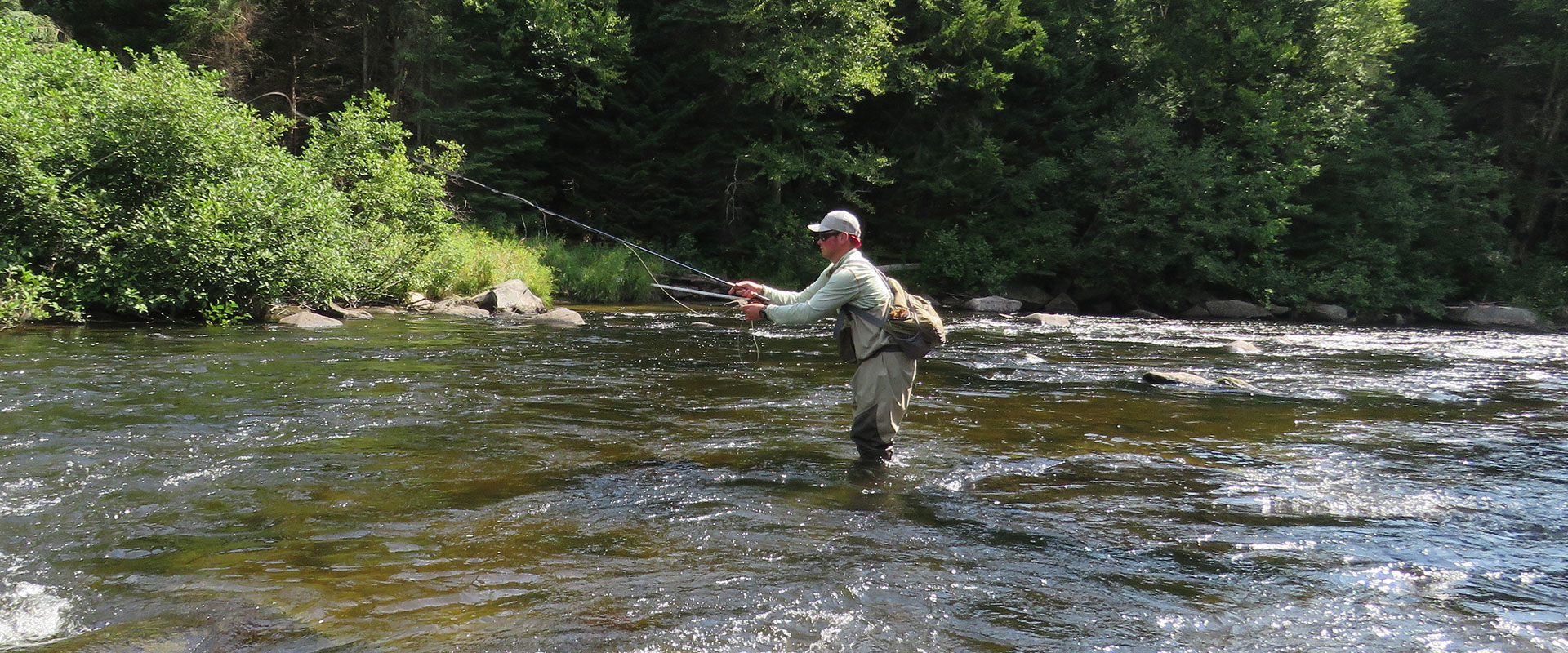 New england 39 s best fly fishing vacations book today for Best fly fishing