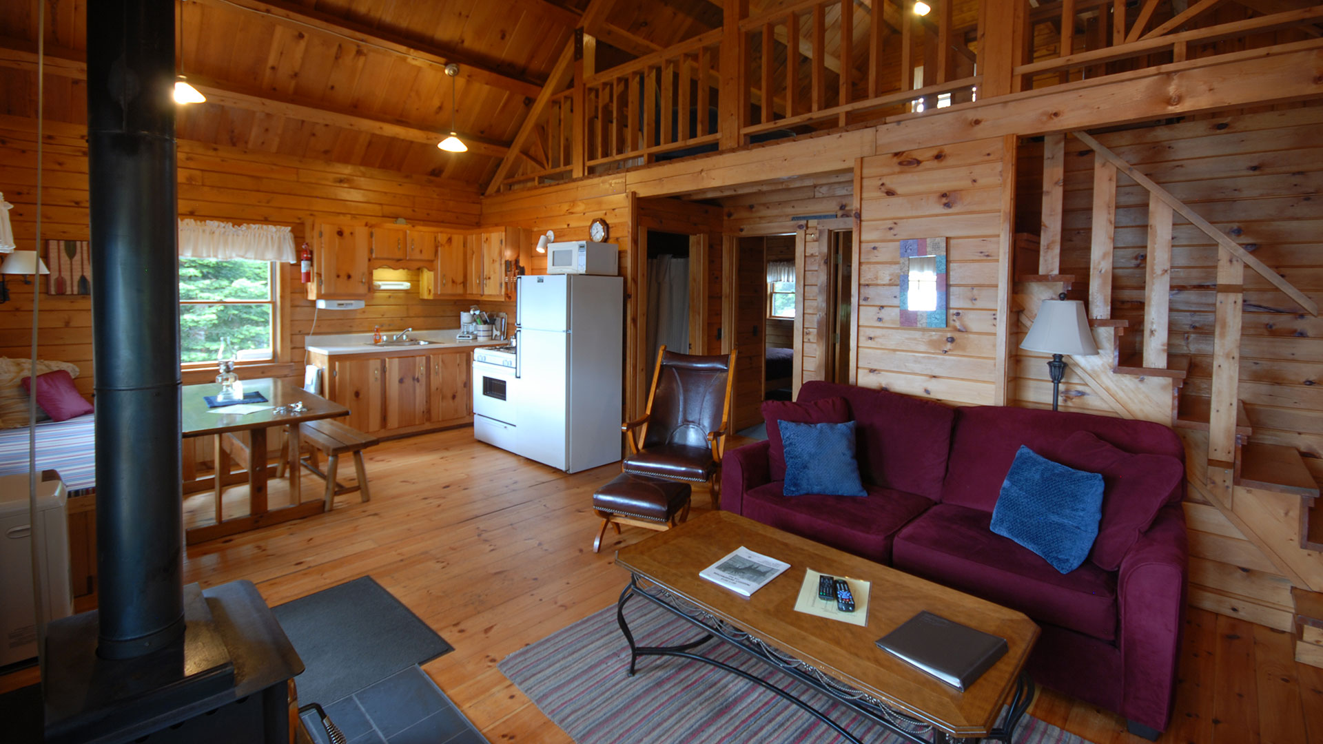 pittsburg serenity on lake lopstick rentals at watch youtube cabins the first cabin nh