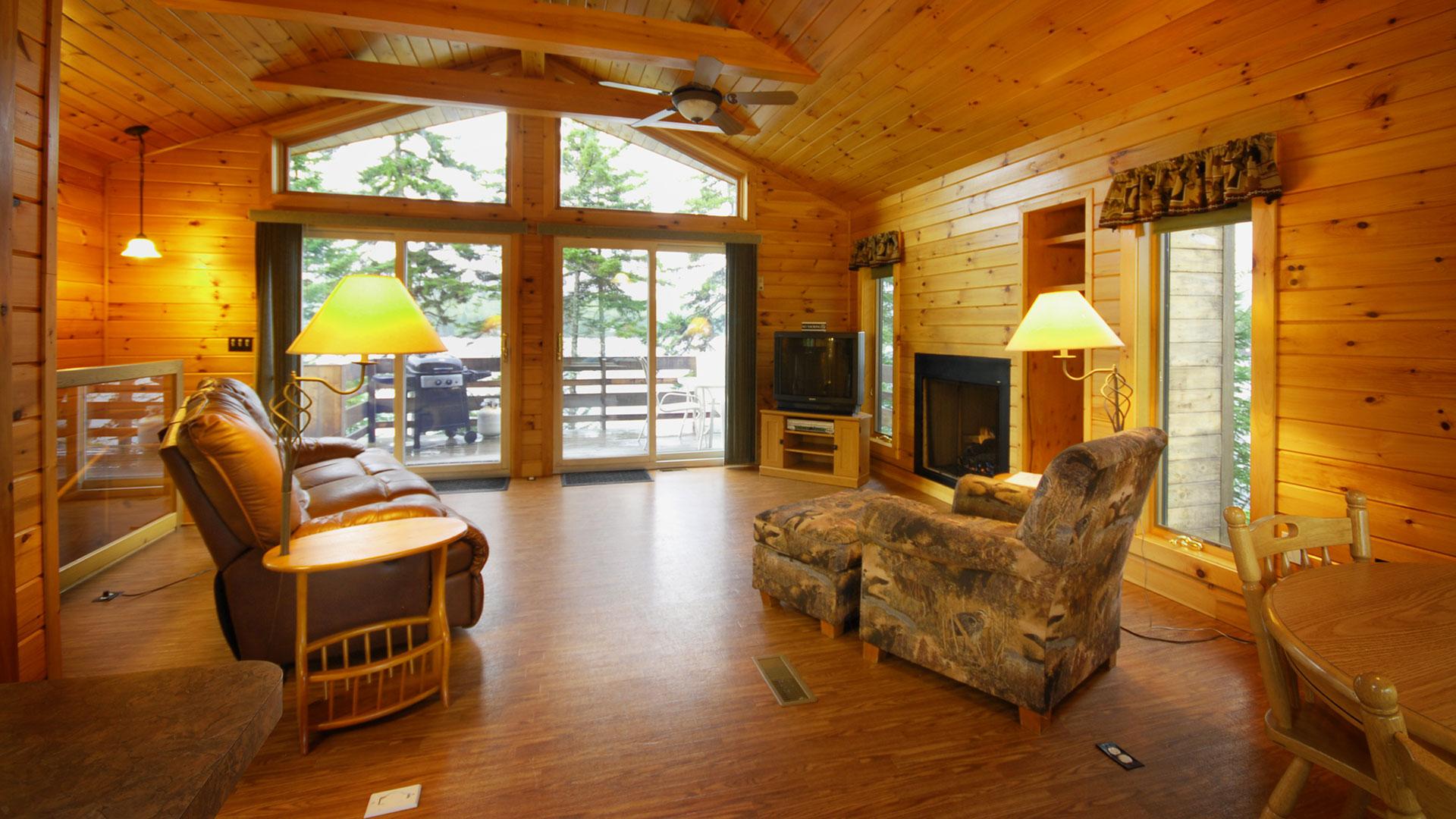 web cabin cabins stream riffles nh lopstick perry room living rentals
