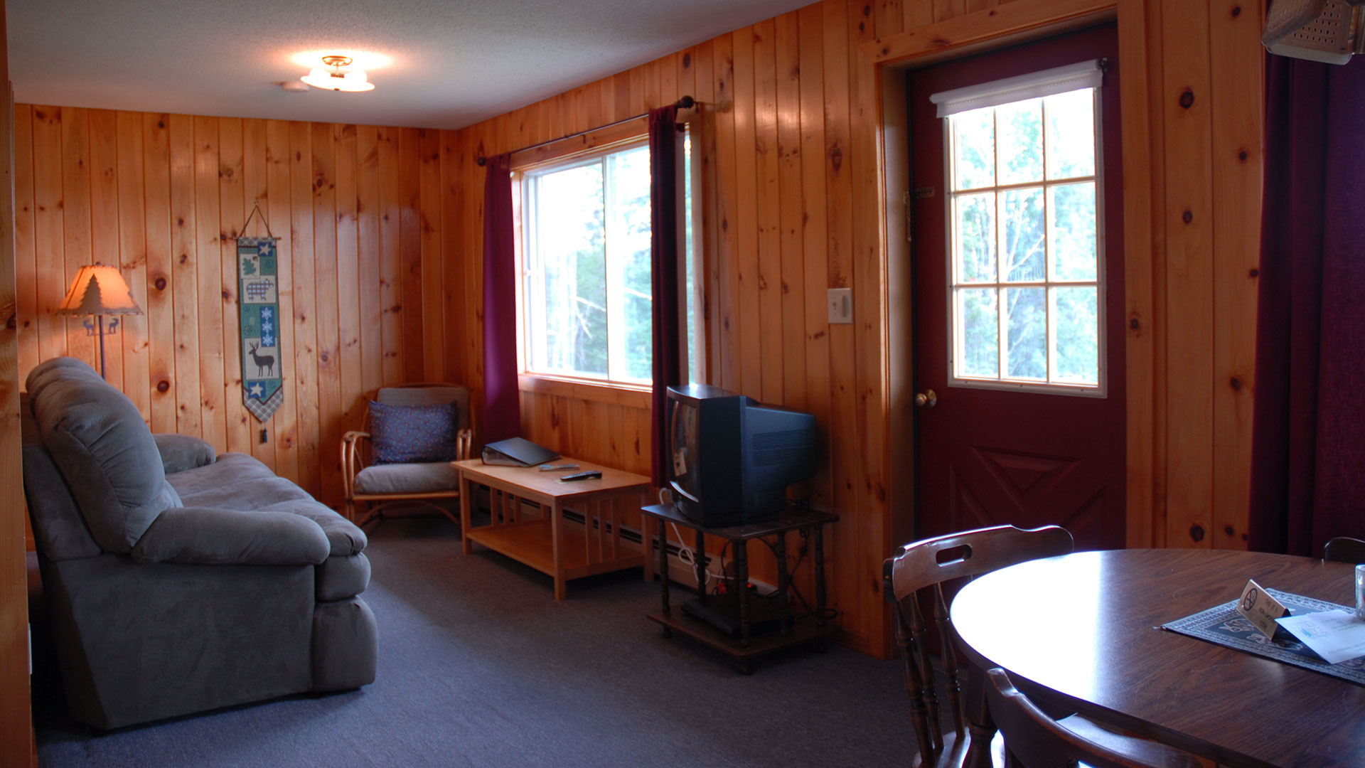 pittsburg northern lopstick watch cabins at rentals the cabin nh lights youtube