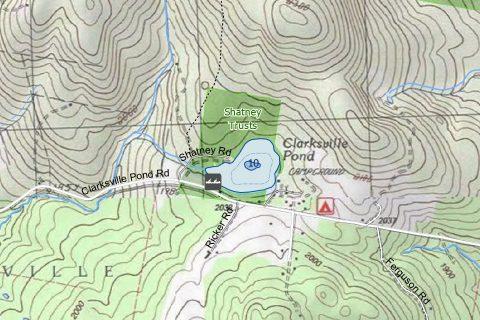Clarksville Pond, Clarksville, NH Image